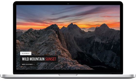 LandScape – A Photography WordPress Theme