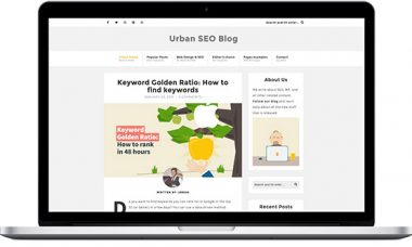 Urban – A SEO & Web Design WordPress blog