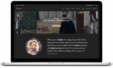 Marjetka – A Feminine Lifestyle WordPress Blog Theme